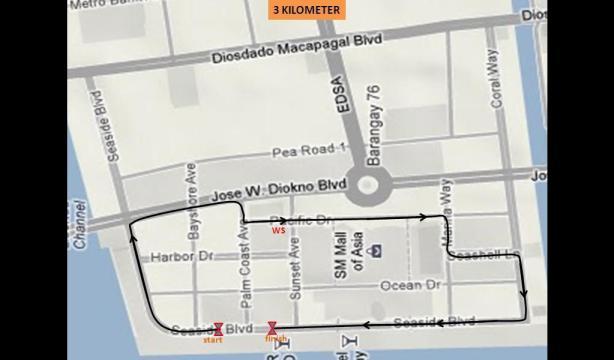 3km map
