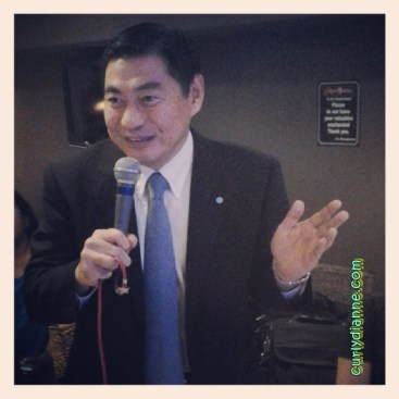 Mr. Tadeshi Nakatsuka President of Kumon Philippines Inc.