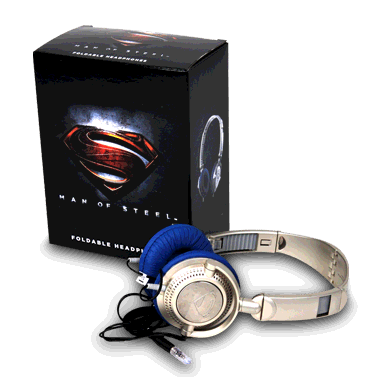 headphones man of steel