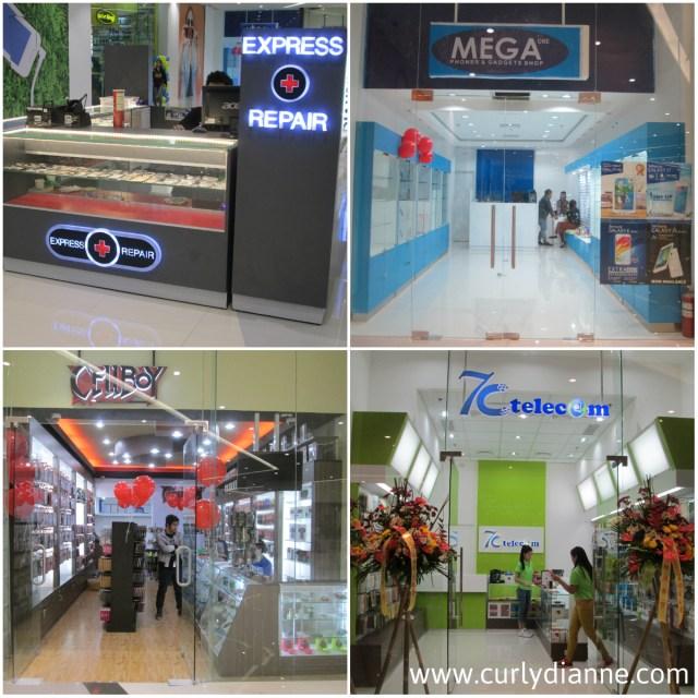 mobile outlets at SM Light
