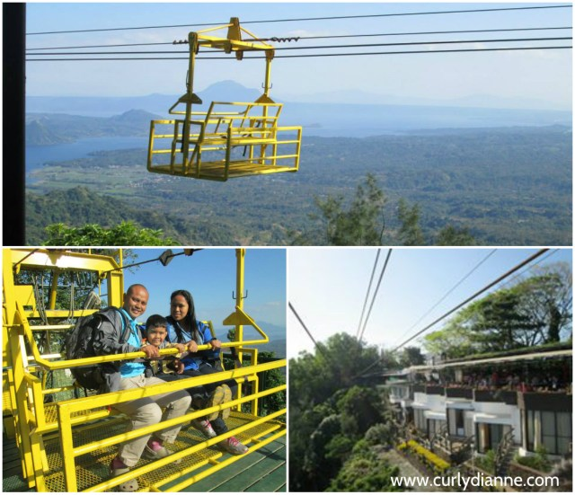 Fall in love at the fantastic Taal Volcano view while riding the cable car or zipline.