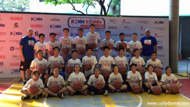 NBA jr PH and WNBA jr PH by Alaska
