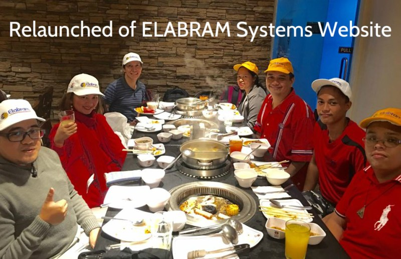 Relaunched of ELABRAM Systems Website