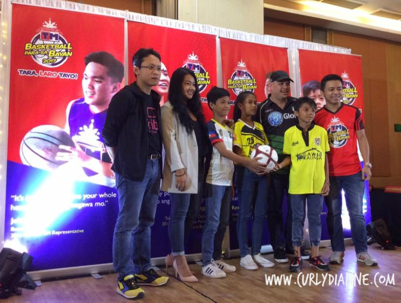 Globe launches TM Sports Para sa Bayan together with Malaysia's Astro via its subsidiary Tribe. In photo from left to right: Iskandar Samad, Tribe CEO; Joenard Erojo, shortlisted football program candidate; Maui Rabuco, Brand Manager for TM; Princess Lovely Magbago, shortlisted candidate; Deeg Rodriguez, Assistant Manager of Green Archers United; Rofil Magto; Manager, Globe Citizenship; and Cesar De Torres Jr., shortlisted candidates.