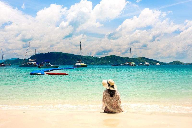 Banana Beach Koh Hey in Coral island is picture perfect with its white sand beachs and clear blue water. Photo is from the Tourism Authority of Thailand.