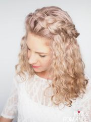 braided curly