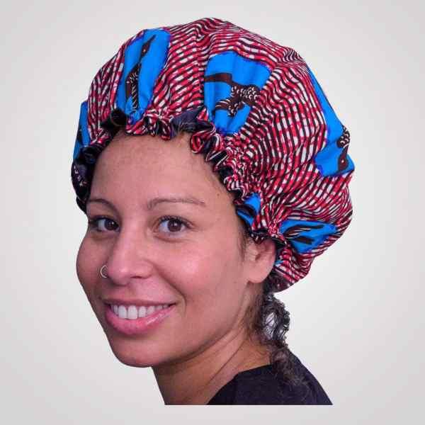 bonnet intérieur satin protecteur de boucles curly nights freedom cheveux crépus