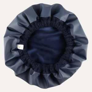 bonnet haarkur wasserabweisend 2 in 1 marine blau curly nights