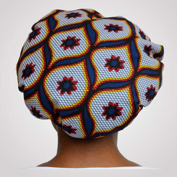 bonnet satin wax elastisch arabesque