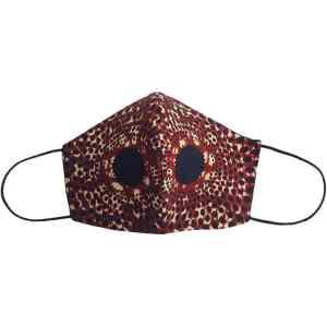 masque anti-projection lavable coton wax coronavirus covid-19 protection visage nez bouche IRIS