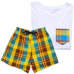 Pyjama MADRAS BLEU