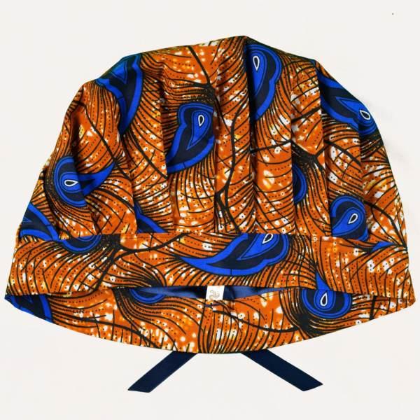 bonnet en satin de nuit réglable curly nights wax PAON D'OR