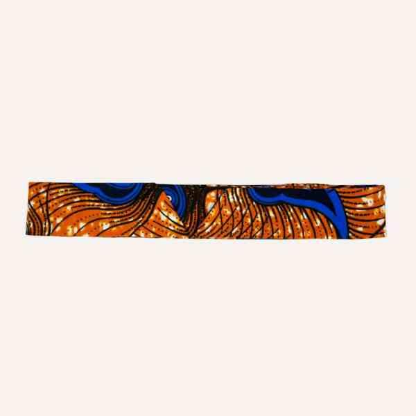 ceinture longue wax PAON D'OR pour kimono, jeans, robe, manteau