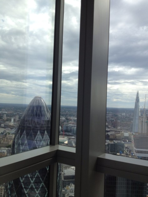 The Shard from The Heron Tower