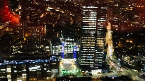View of Euston Tower taken from the top of BT Tower, London