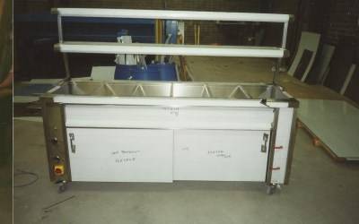Twin Element Twin Overshelf Unit