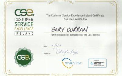 Customer Service Excellence Award 2016