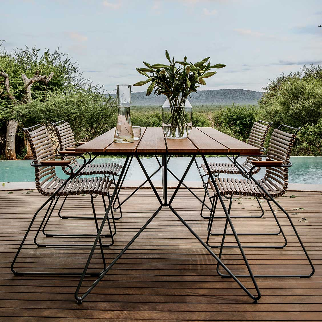 click outdoor chairs by houe curran home