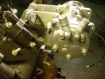 Ac Compressor Wiring Lsx Engine Swap A C Relocation Bracket Cpw Lsx Harness