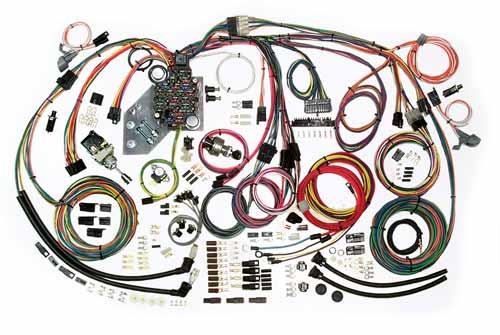 1974 Corvette Radio Wiring Diagram Complete Wiring Kit 1947 55 Chevy Truck Cpw Lsx