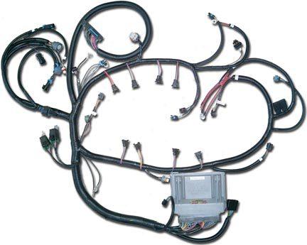 Direct Fit Custom GM LSx Vortec LTx Engine Wiring Harness