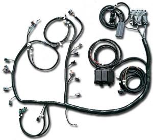 58x LS2, LS3, LS7 Stand Alone Engine Harness For E38 ECU