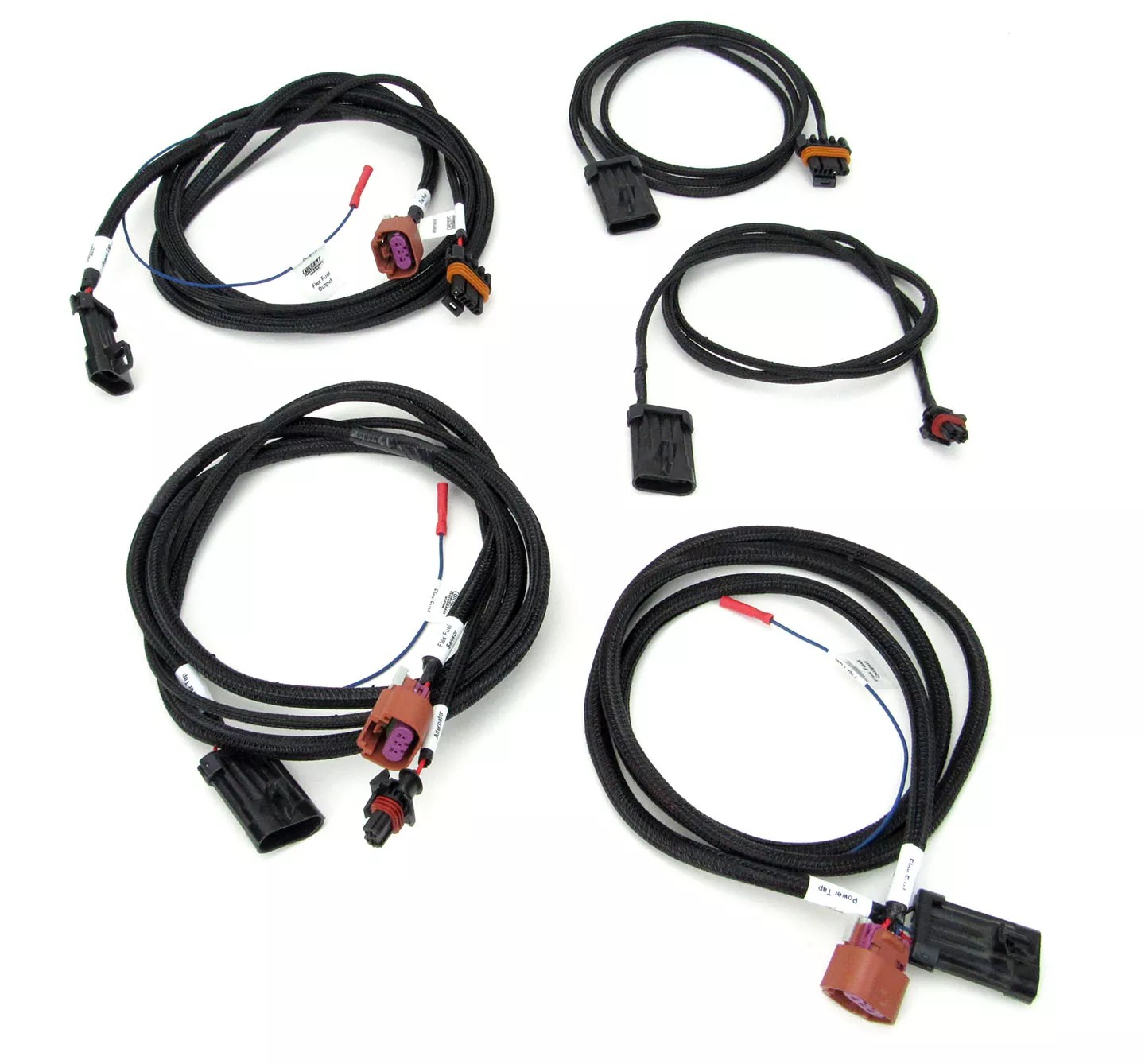 Holley Power Tap Flex Fuel Amp Alternator Harness