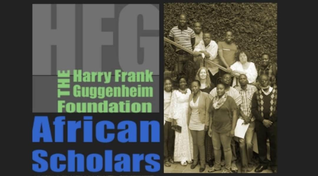 Harry Frank Guggenheim Foundation African scholars
