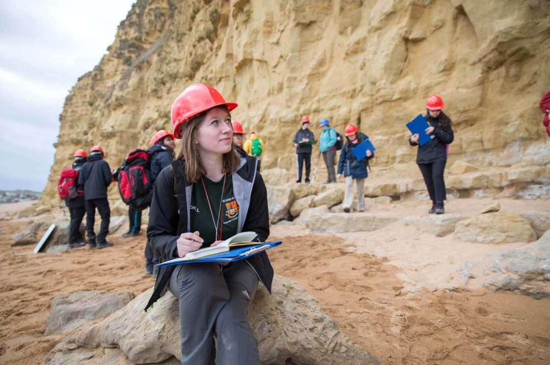 Firms that Recruit Students of Geology