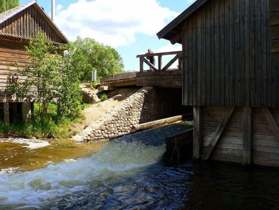Visit the Ginuciai Water Mill