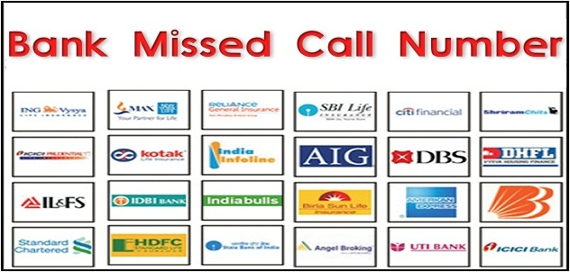 Official Missed Call Balance Enquiry Number for All Banks Updates