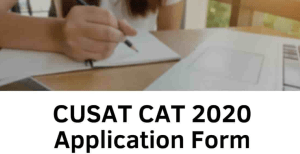 How to Fill CUSAT 2020 Application Form | A Step by Step Procedure