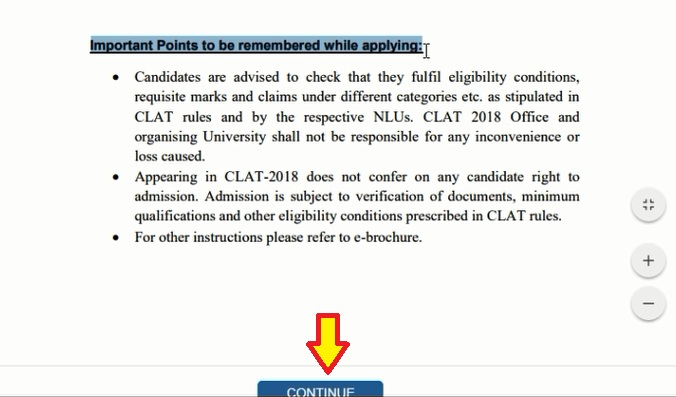 How to Fill CLAT 2020 Application Form 2