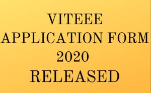 VITEEE 2020 Application Form | viteee.vit.ac.in Apply Online Here
