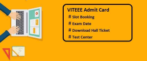 VITEEE 2020 Admit Card & Slot Booking | Book Slot Here