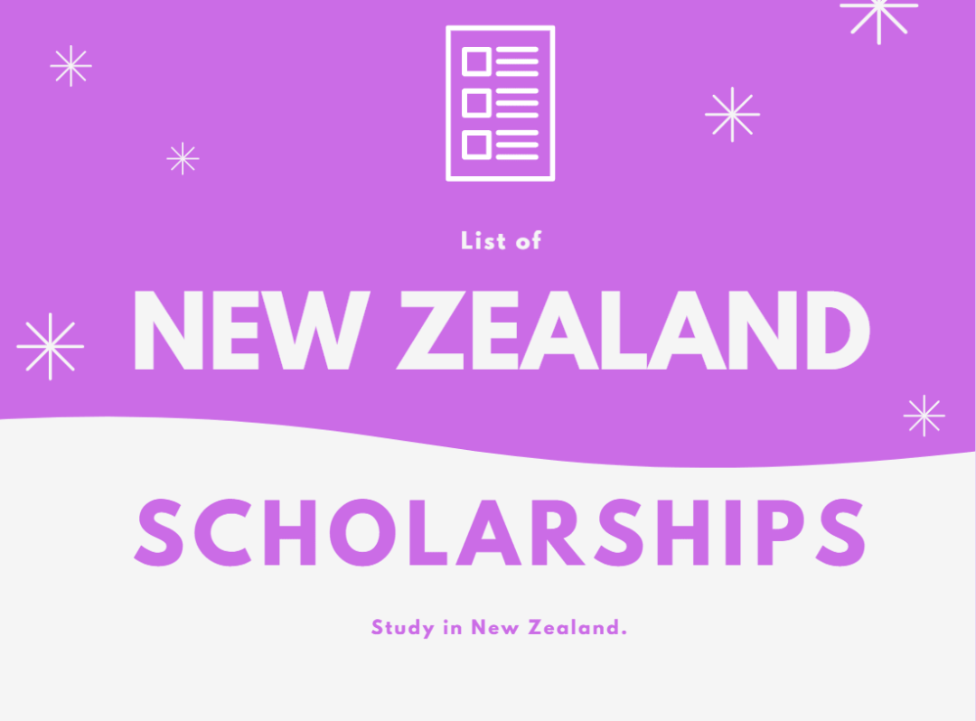 Study Abroad in New Zealand Scholarships 2020/2021 Application Portal