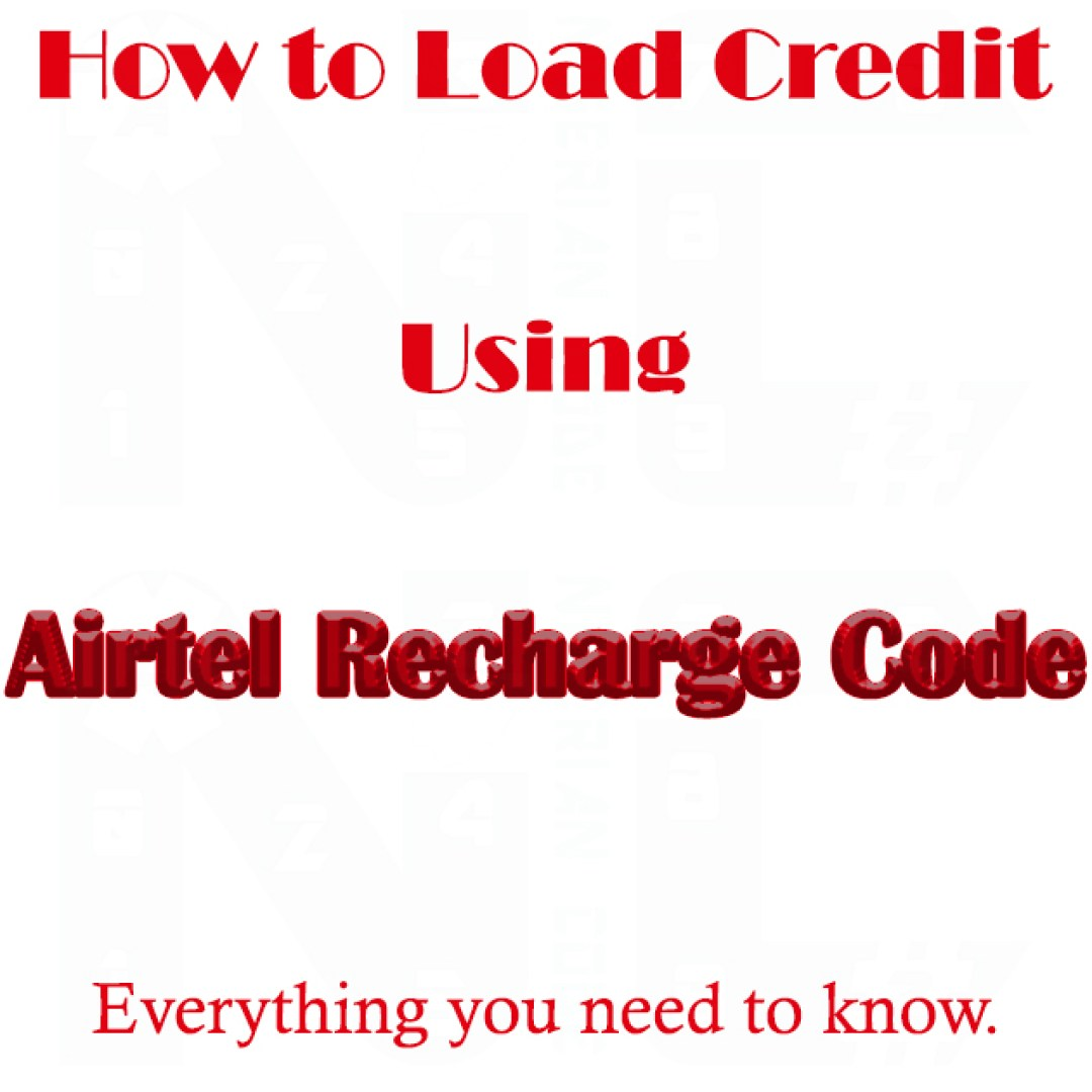 Airtel Recharge Code 2021 Check New Airtel Recharge USSD Code