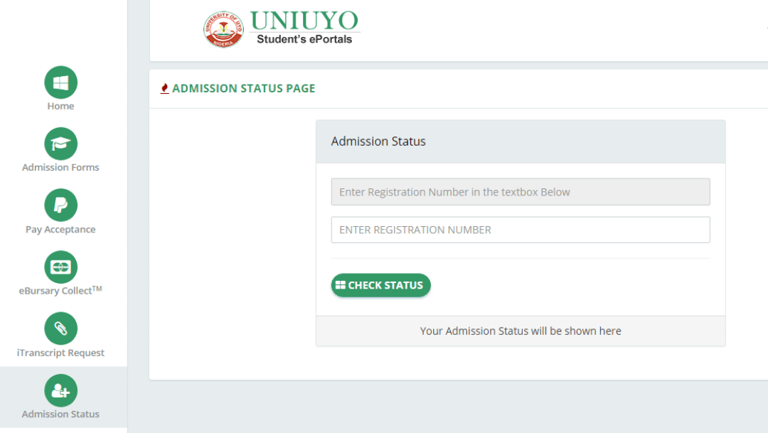 How to Check UNIUYO 2020 Admission List Online