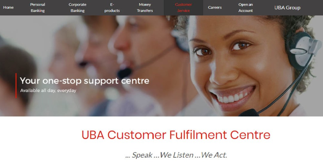 UBA Customer Care 2021, Mission and Vision Update