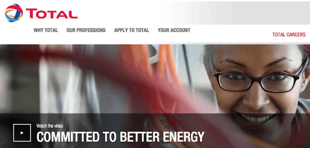 Total Nigeria Recruitment 2021/2022 Überprüfen Sie das Update des Bewerbungsportals