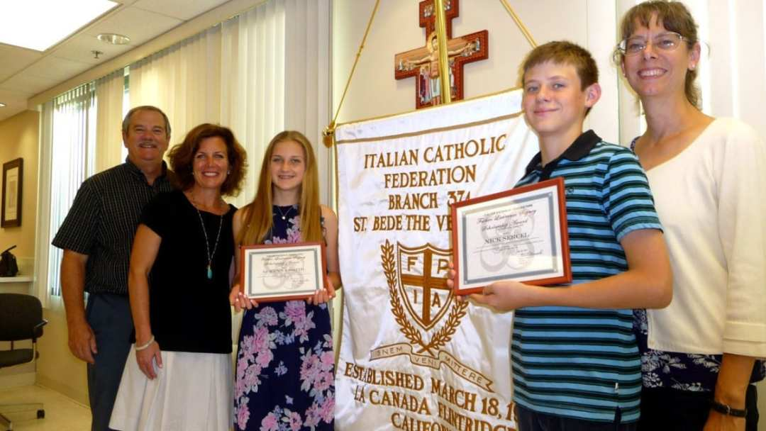 Italian Catholic Federation First Year Scholarship
