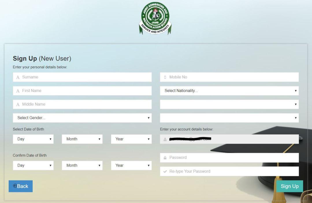 JAMB Registration Procedures - Step by Step Guide