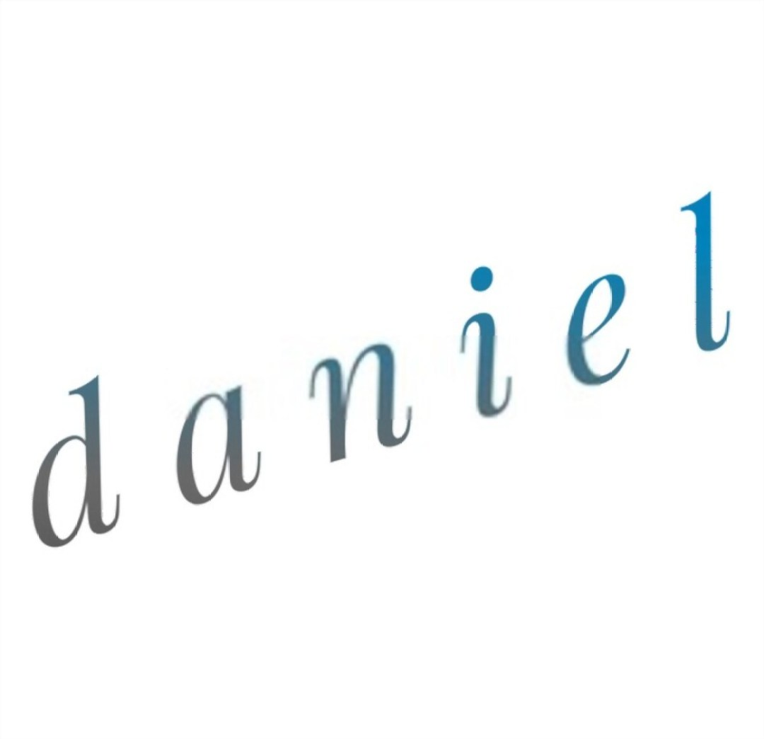 Different Spelling and Presentation of the Name Daniel
