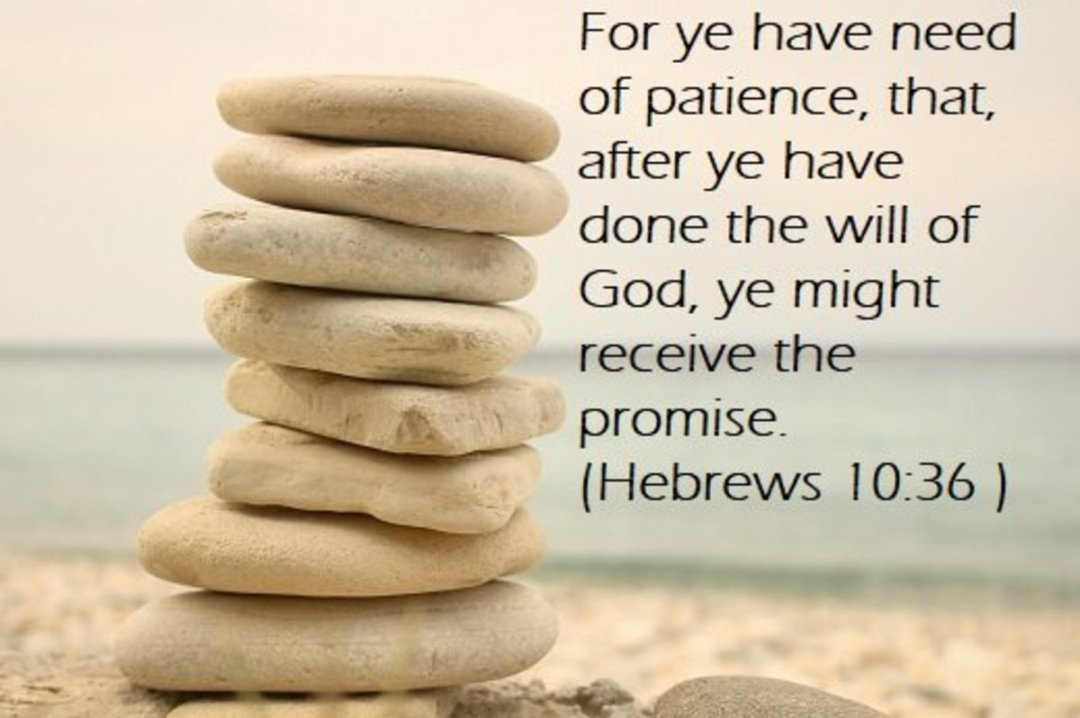 bible verse about patience