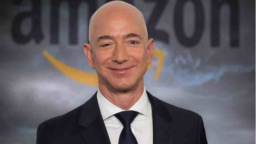 Jeff Bezos in Space
