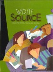 Write Source Grade 12 Textbook from Houghton Mifflin Harcourt