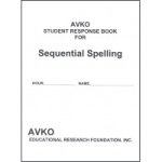 Student Response Book Level 1-7 by Sequential Spelling