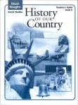 History of Our Country Level E Teacher's Guide by Steck-Vaughn