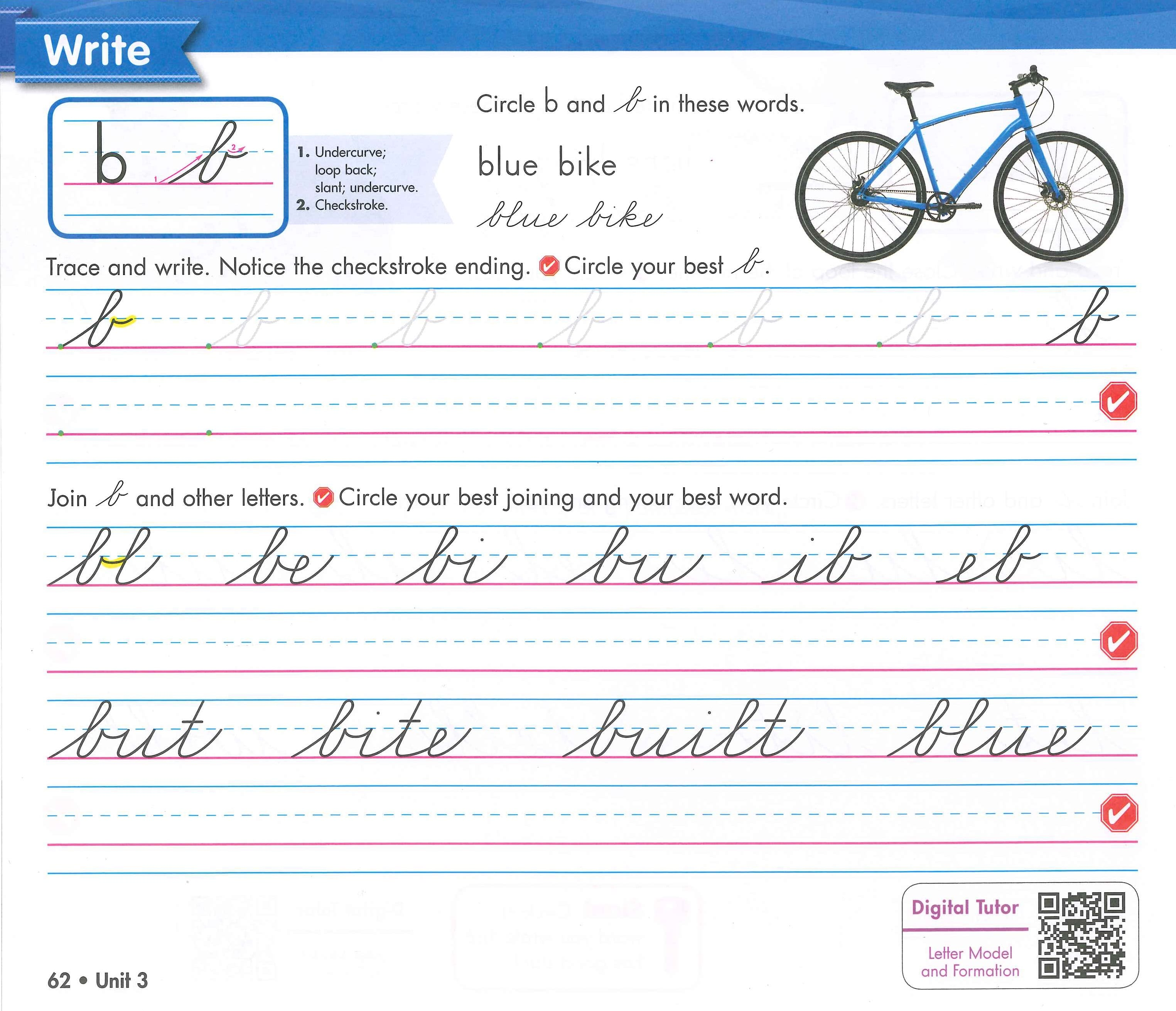 Zaner Bloser Handwriting Is A Complete Program That Can Be