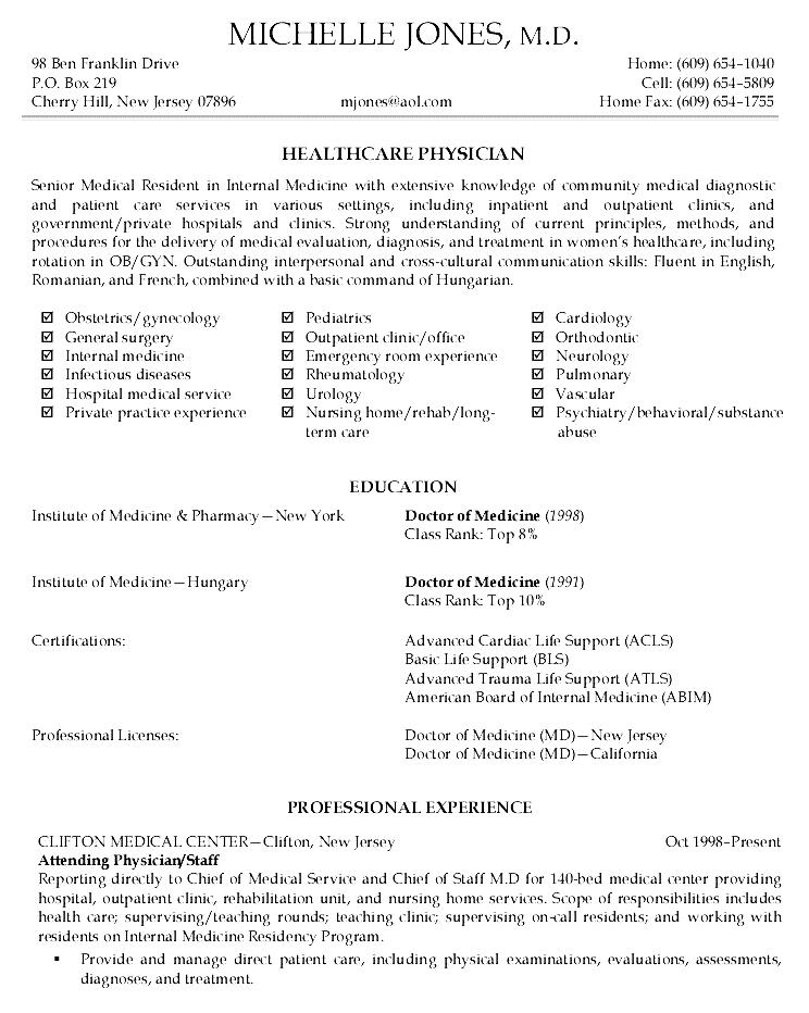 Cv Resume Example Executive Cv Template Resume Professional Cv